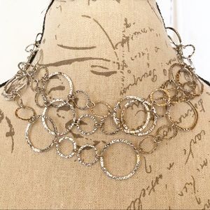 Chico's Silver Necklace New with Tags
